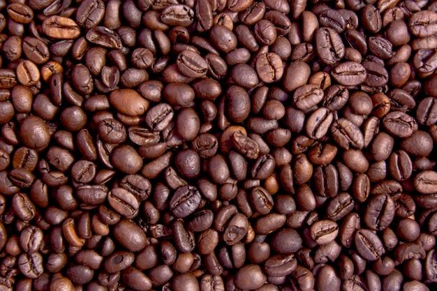 Grains de café grillés Photo Premium