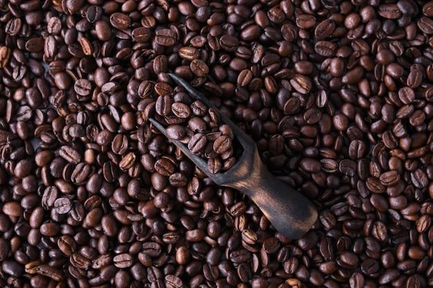 Grains De Café Isolés Sur Fond Blanc Photo Premium