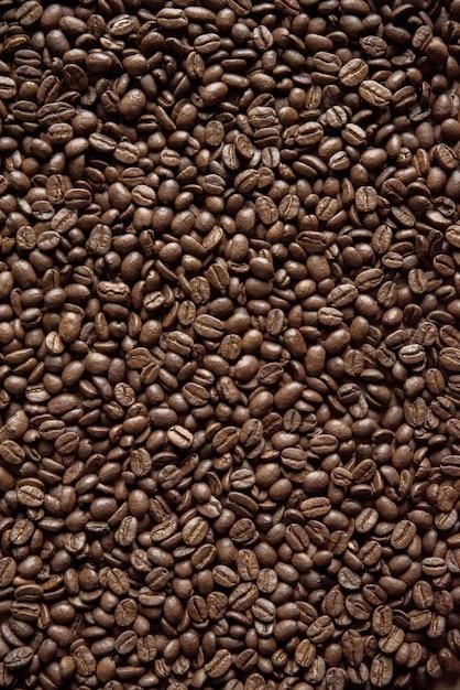 Grains De Café Tournés Verticalement, Parfaits Pour Le Fond Ou Un Blog Photo gratuit