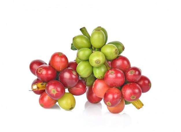 Grains De Café. Photo Premium