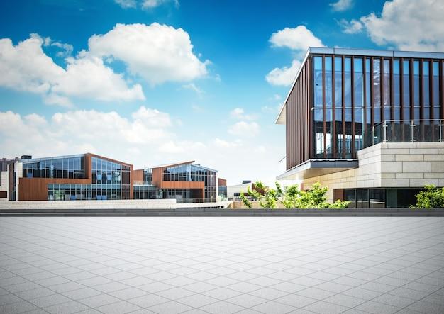 Immeuble de bureaux moderne coloré u photographie photoweges