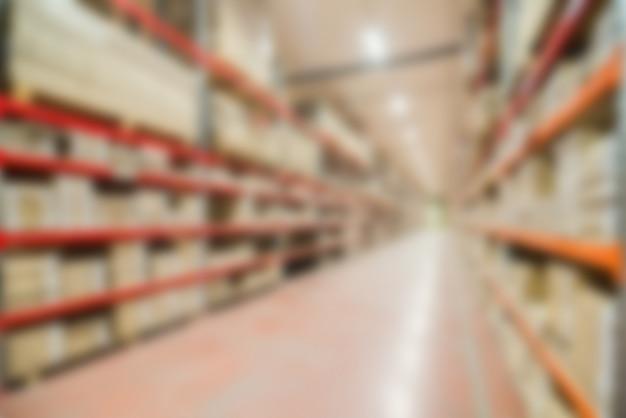 Grand thème d'entrepôt moderne flou fond Photo gratuit