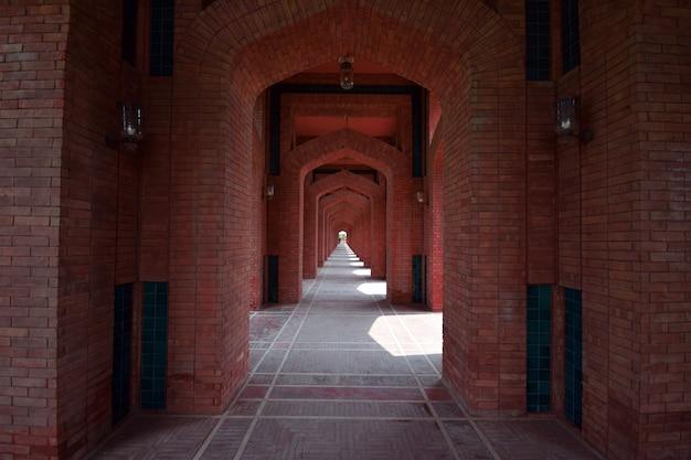 Grande jamia mosque lahore Photo Premium