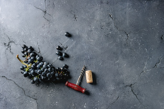 Grappe de raisins Photo Premium
