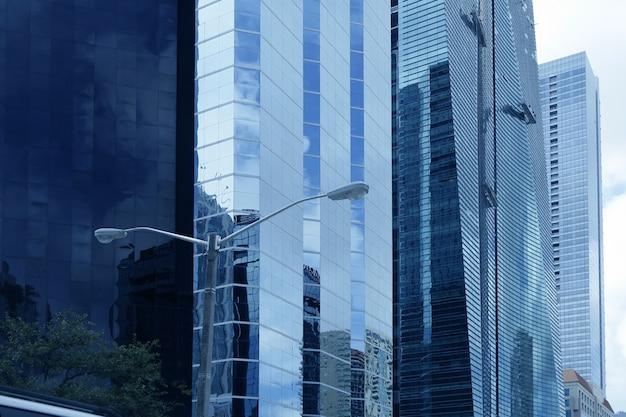 Gratte-ciel du centre-ville de miami Photo Premium