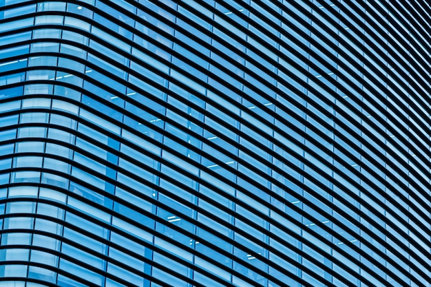 Gratte-ciel immeuble de bureaux d'affaires avec vitre Photo gratuit