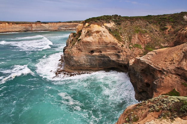 Great Ocean Road, Océan Indien, Australie Photo Premium