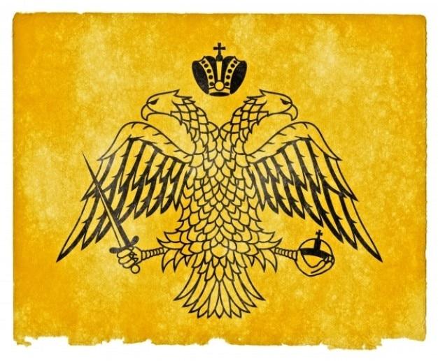 Grec orthodoxe drapeau grunge Photo gratuit