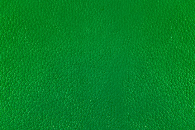 Gros fond de cuir et de texture vert Photo Premium