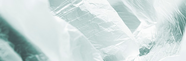 Gros Plan Abstrait Concept De Sac En Plastique Photo gratuit