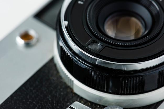 Gros plan de l'appareil photo vintage Photo gratuit