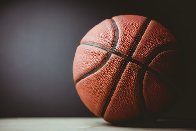 Gros plan, basketball Photo Premium