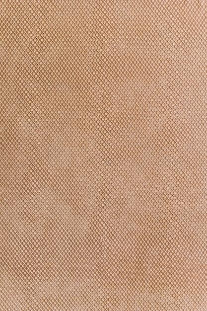 Gros plan, brun, toile, tissu, texture, fond Photo gratuit