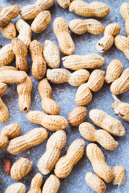Gros plan, cacahuètes, coquille Photo gratuit
