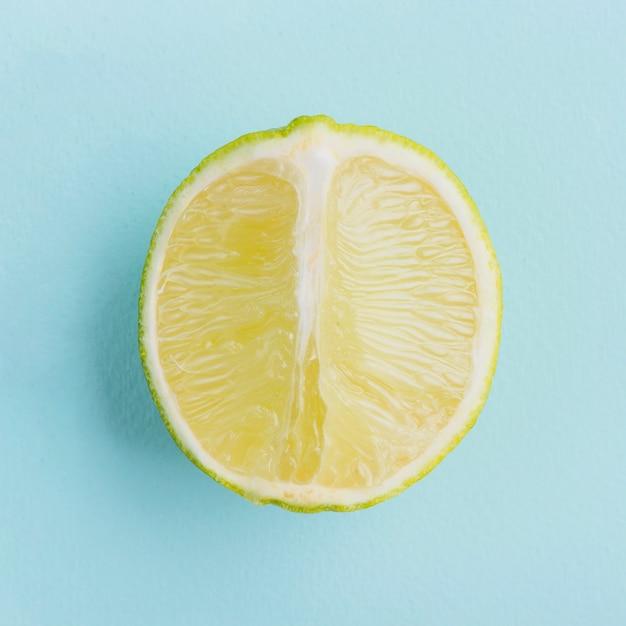Gros Plan De Demi Citron Photo gratuit