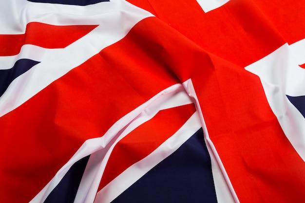 Gros plan du drapeau union jack Photo Premium