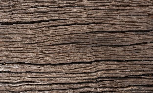 Gros plan d'un fond de planche de bois texturé Photo gratuit