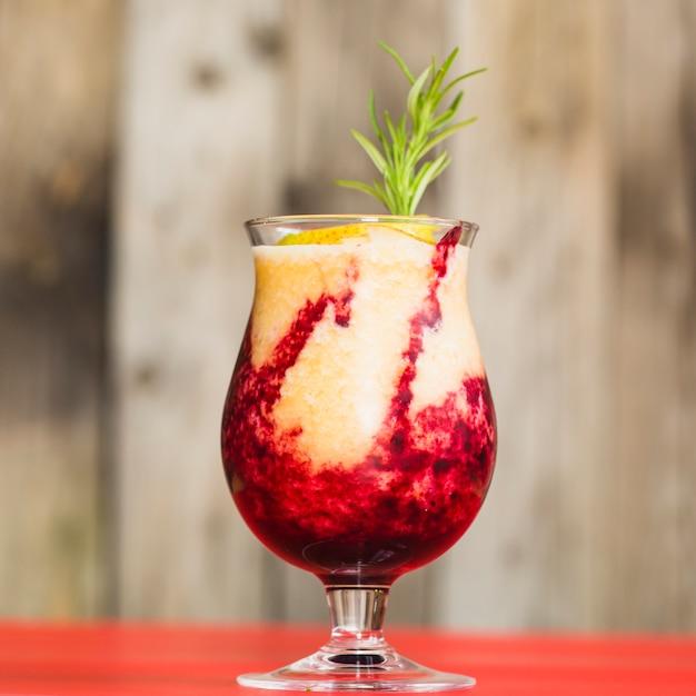 Gros plan, de, jus fruits frais Photo gratuit