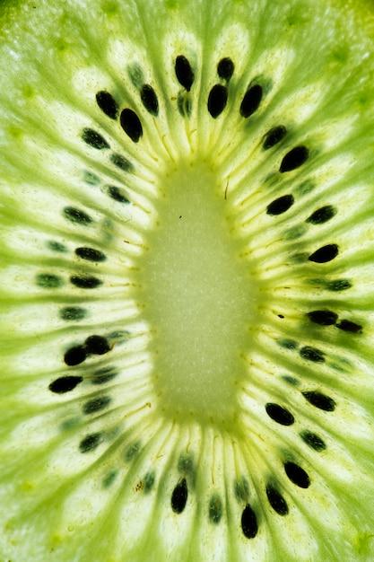 Gros plan de kiwis verts Photo gratuit