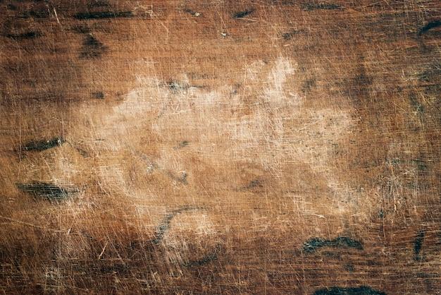 Gros plan d'une planche de bois rustique Photo gratuit