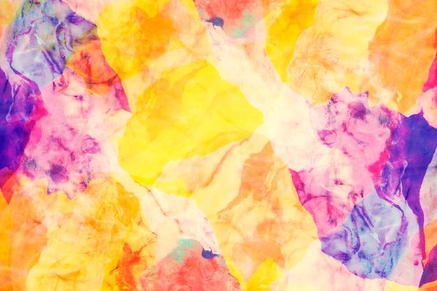 Gros plan de la texture de l'argile coloré pour abstrait. Photo Premium
