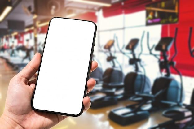 Gros Plan, Utilisation Féminine, Main, Tenue, Smartphone Photo Premium