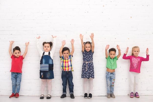 Groupe D'enfants Photo gratuit