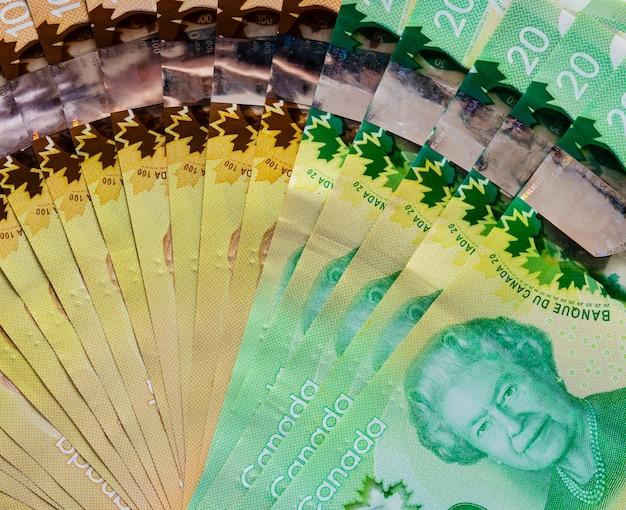 Groupe de facturation canadien Photo Premium