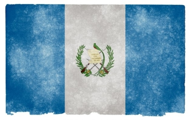 Guatemala flag grunge Photo gratuit
