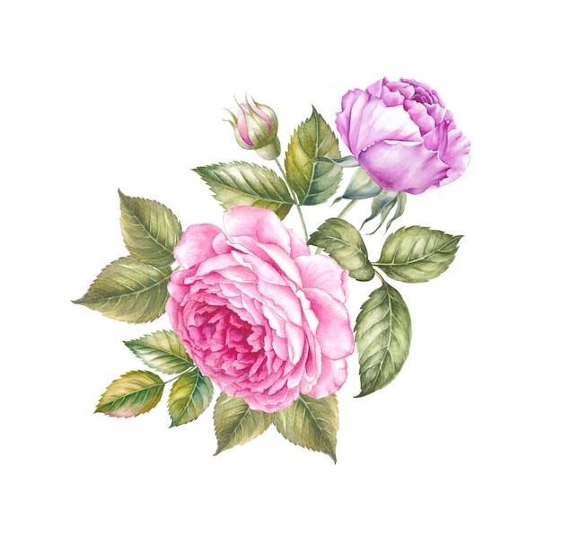 Guirlande de fleurs Photo Premium