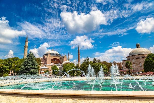 Hagia Sophia à Istanbul, Turquie Photo Premium