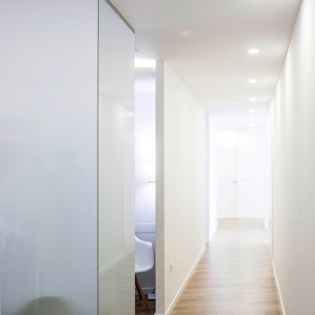 Hall d'une clinique Photo Premium