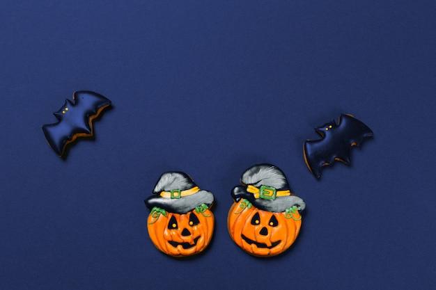 Halloween avec des biscuits Photo Premium