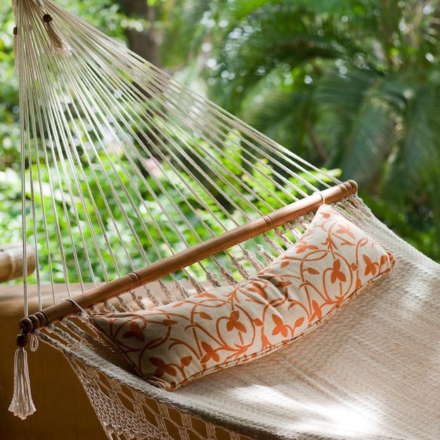 Hamac au florblanca resort au costa rica Photo Premium