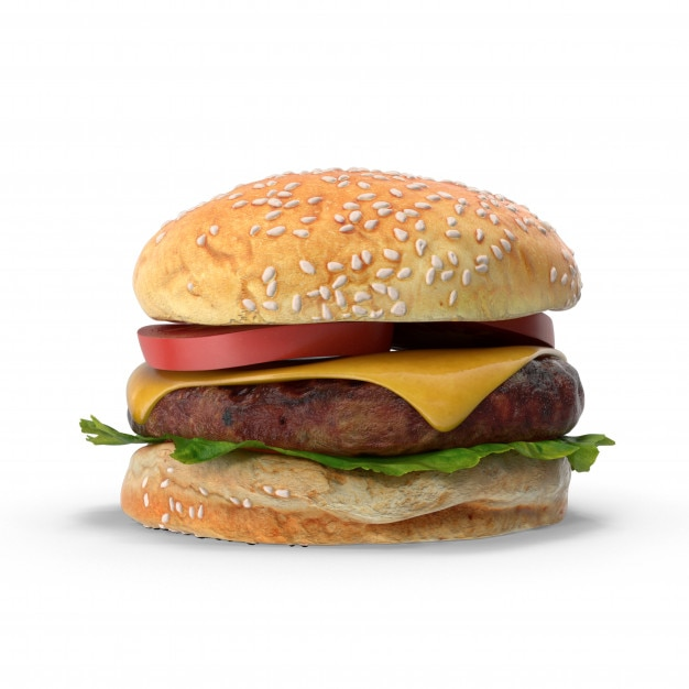 Hamburger Photo Premium