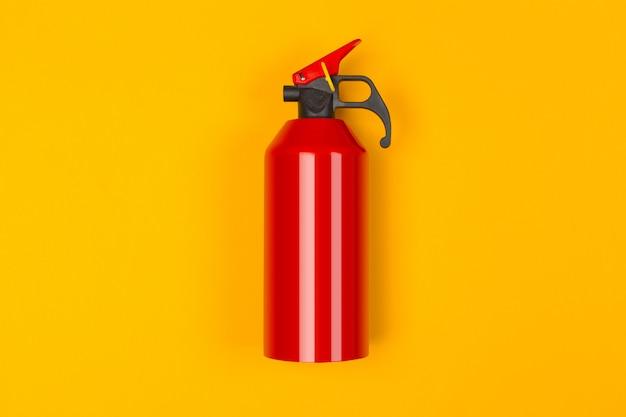 Haut De L'extincteur Rouge Photo Premium