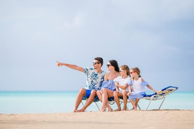 Héhé sur la plage pendant les vacances d'été Photo Premium