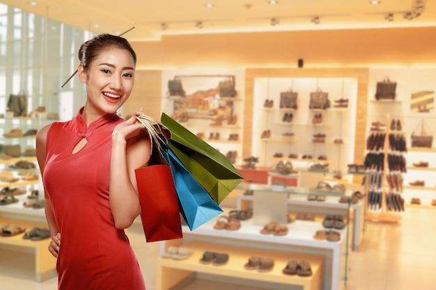 Heureux Concept De Nouvel An Chinois Photo Premium