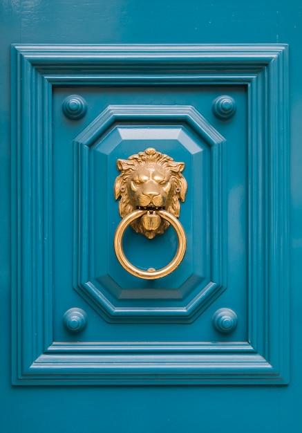 Heurtoir de porte décoratif Photo Premium