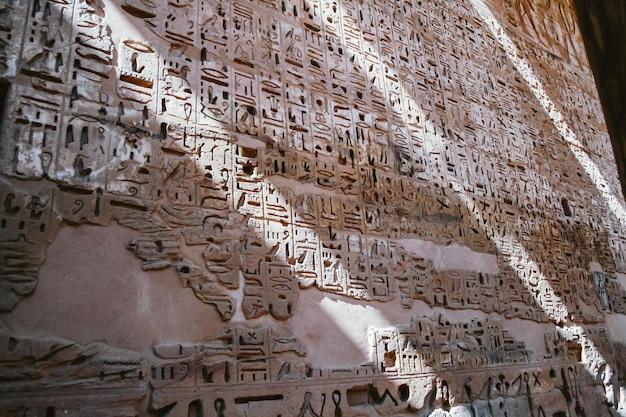 Hiéroglyphes Photo Premium