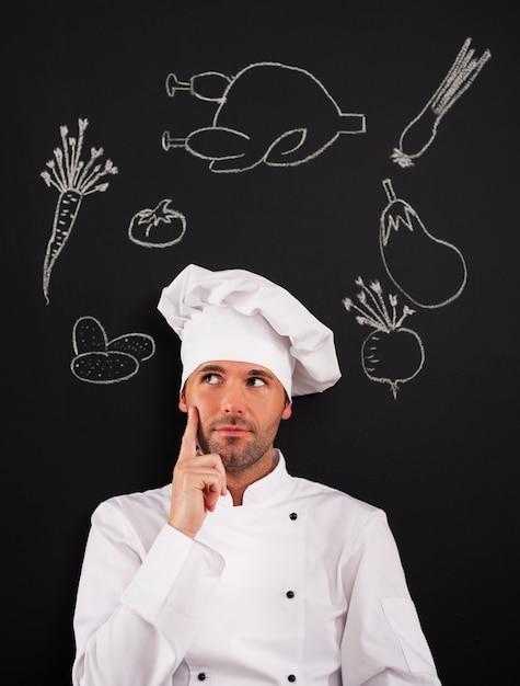 Hmmm ... Que Puis-je Cuisiner? Photo gratuit