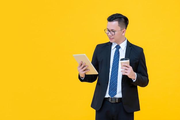 Homme affaires asiatique Photo Premium