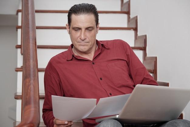 Homme Affaires, Examiner, Contrat Photo gratuit