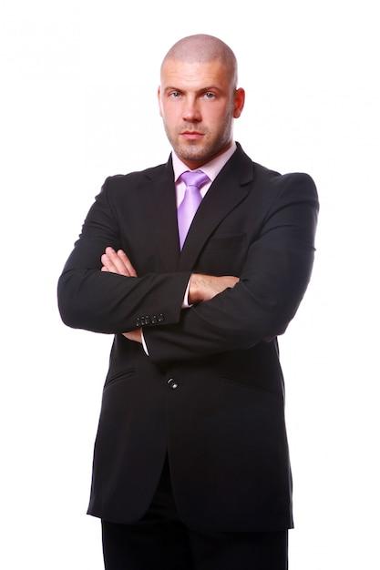 Homme d'affaires isolé Photo gratuit