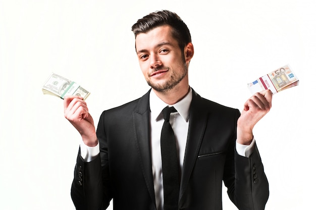 Homme D'affaires Jeune Homme Photo Premium