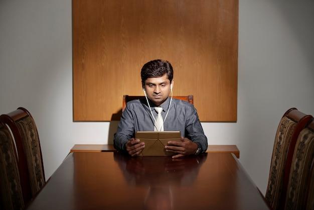 Homme Affaires, Regarder, Présentation, Ligne Photo gratuit