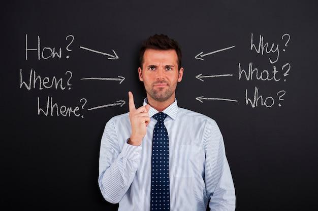 Homme D'affaires Sous Stress Et Pression Photo gratuit