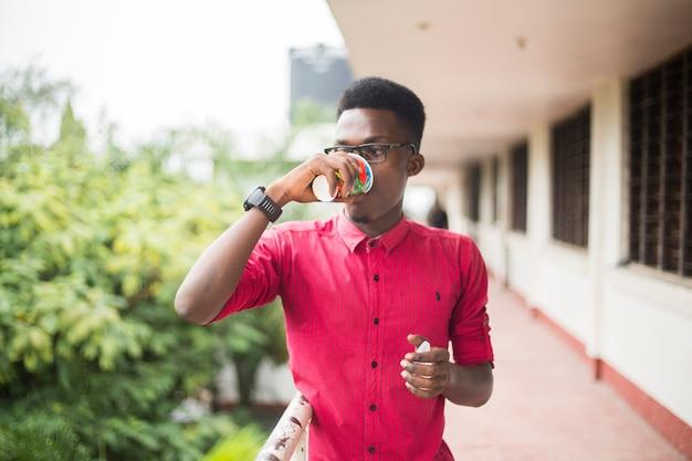 Homme africain noir Photo Premium