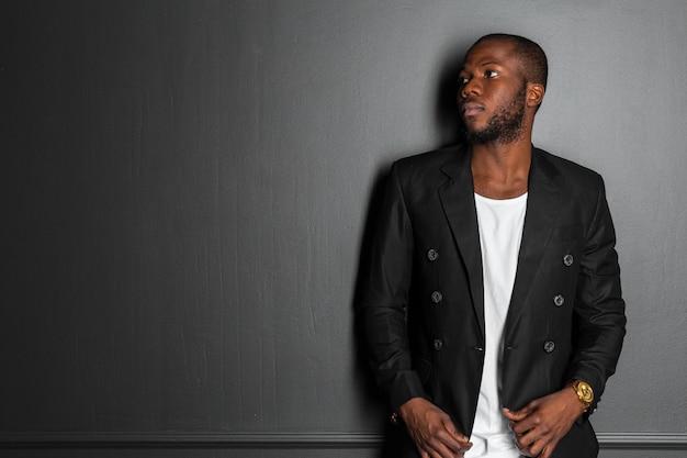 Homme afro américain Photo Premium