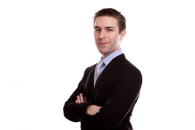 Homme gestionnaire carrière complète à la mode Photo gratuit